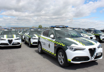 alfa romeo guardia civil