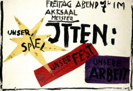 Our Game. Our Party. Our Work. © Rudolf Lutz, 1919